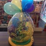 bunter Geschenkballon
