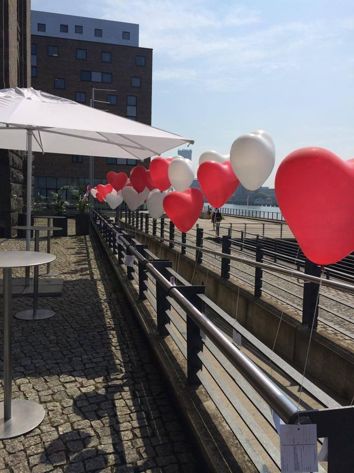 Herzballons Partydeko Berlin