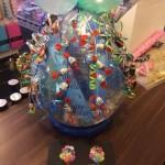 Geschenkballon mit Süßigkeiten