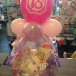Geschenkballon zum 18. Geburtstag
