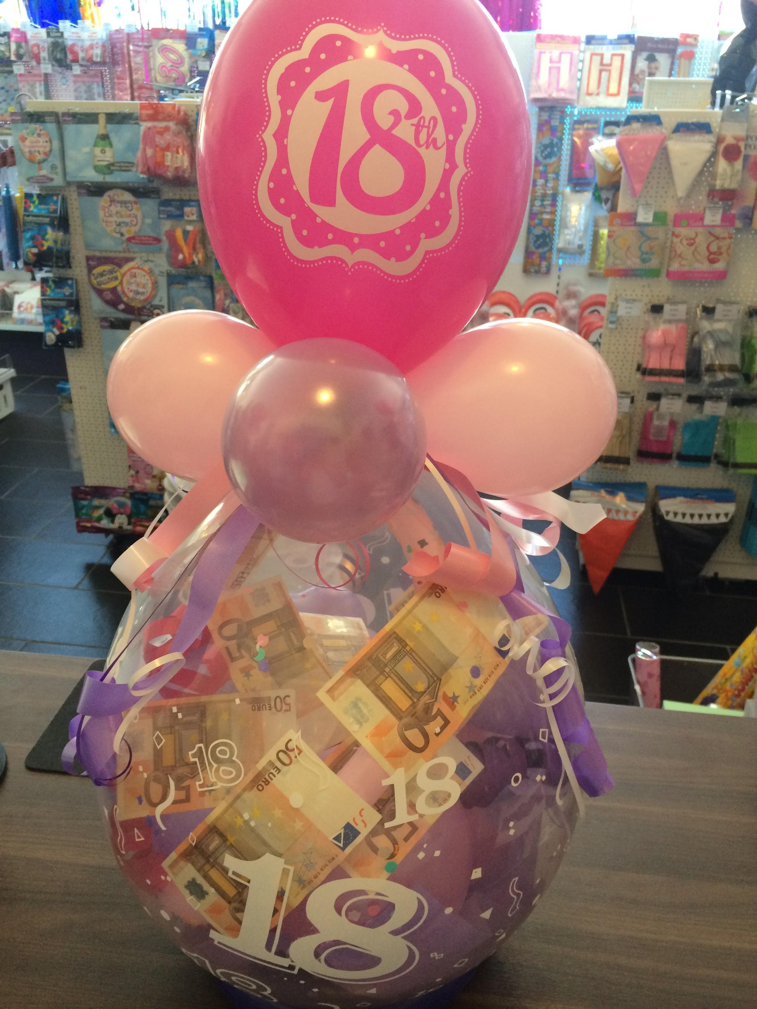 Geschenkballon Bei Misterparty