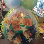 Geschenkballon zur Jugendweihe