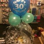 Geschenkballon zum 30. Geburtstag von MisterParty