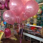 Its a Girl Ballons in rosa