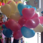 Ballons zur Babyparty