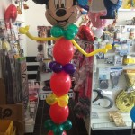 Mickey Mouse Ballondekoration zum Kindergeburtstag