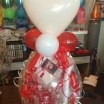 Geschenk im Ballon zur Hochzeit