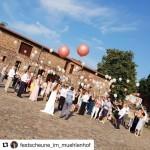 Heliumballons zur Hochzeit