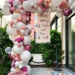 Ballongirlande zum Geburtstag