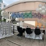 Ballongirlande zum 1. Geburtstag