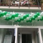 Ballongirlande zur Neueröffnung Berlin