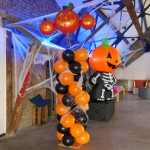 Ballondekoration Halloween