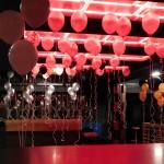 Ballondekoration mit Heliumballons