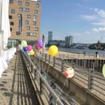 Ballons im Spreespeicher Berlin