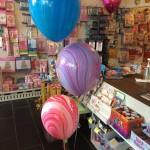Heliumballons bunt