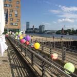Ballondekoration Spreespeicher Berlin