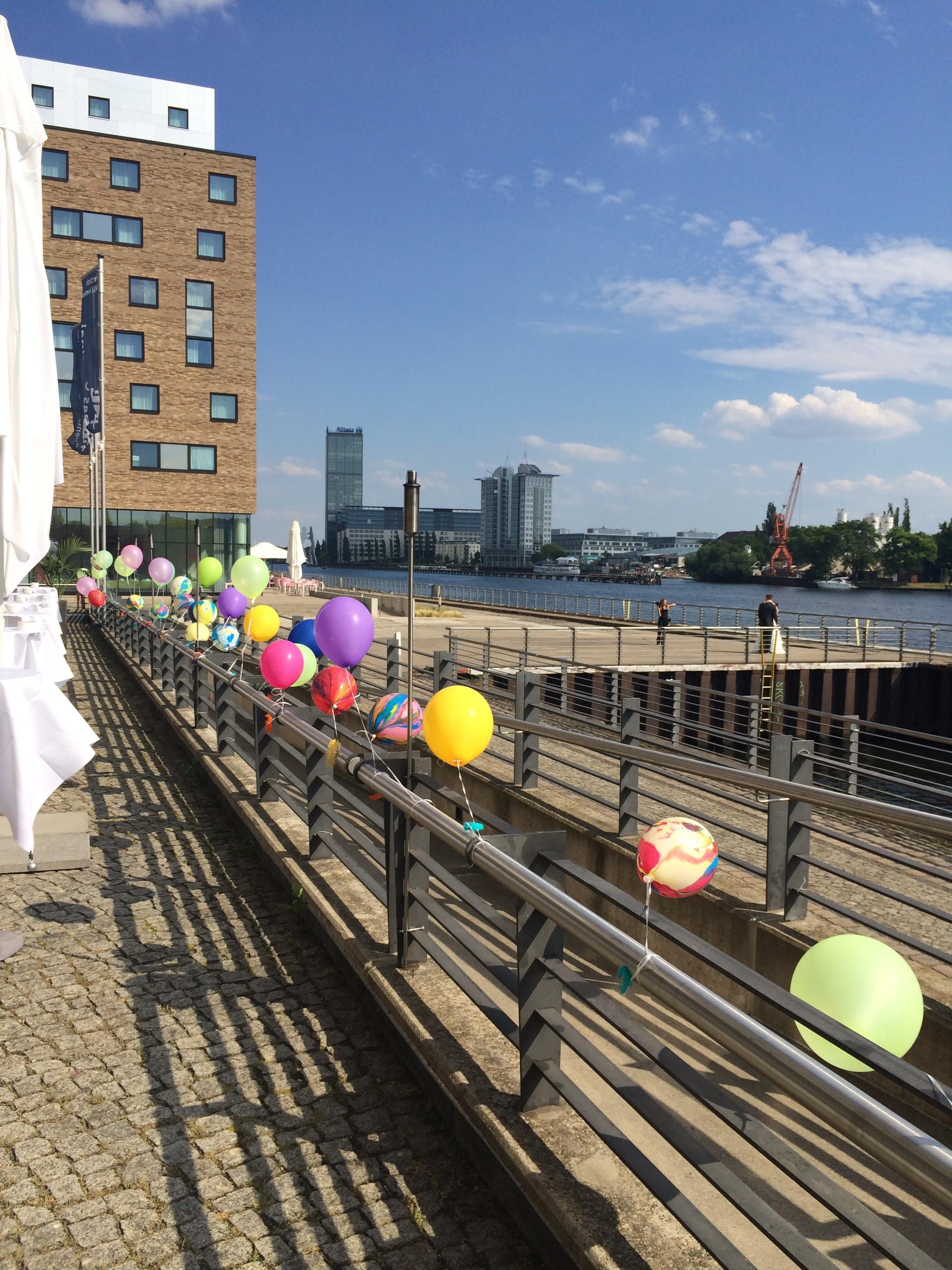 Heliumballons Berlin Partydeko Berlin