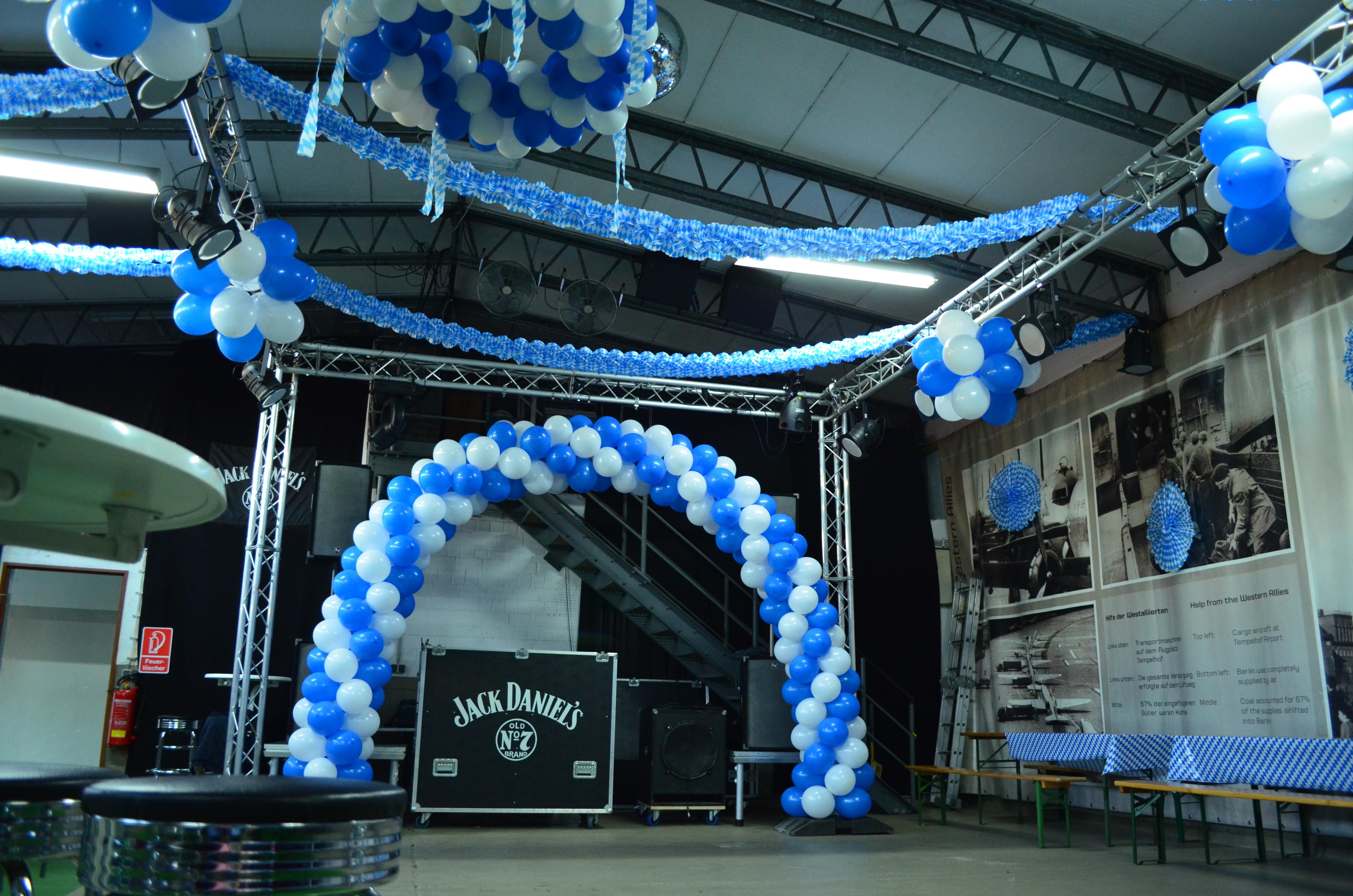 Ballonbogen Berlin Oktoberfest Partydeko Berlin