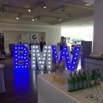 Leuchtbuchstaben BMW