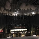 Ballondekoration Decke
