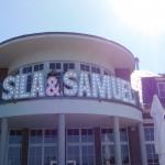 Leuchtbuchstaben Hochzeit Sila Sahin & Samuel Radlinger Wansee Terrassen Berlin
