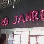 Ballondekoration Jubiläum