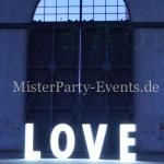 Leuchtbuchstaben Hochzeit Berlin