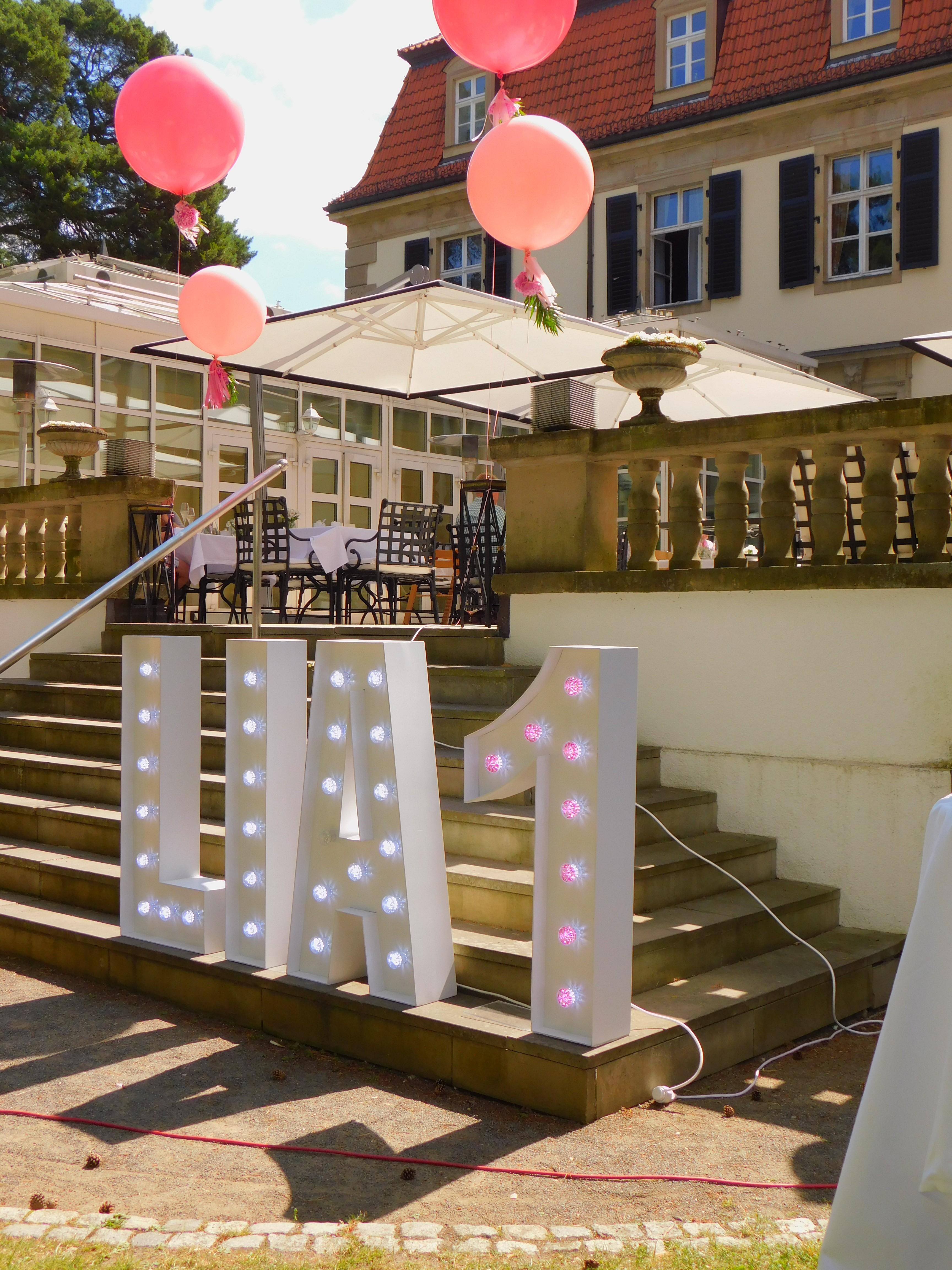 Leuchtbuchstaben Berlin Partydeko Berlin