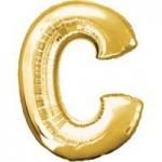 Berlin Buchstabenballons gold C
