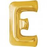 Berlin Buchstabenballons gold E
