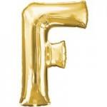 Berlin Buchstabenballons gold F
