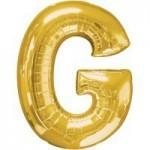 Berlin Buchstabenballons gold G