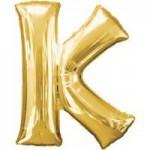 Berlin Buchstabenballons gold K