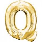 Berlin Buchstabenballons gold Q