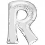 Berlin Buchstabenballons silber R