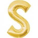 Berlin Buchstabenballons gold S