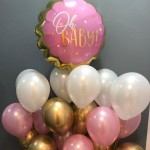Heliumballons zur Babyparty