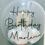 personalisierter Heliumballon