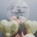 Ballon für die Trauzeugin