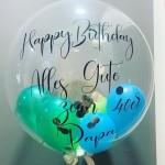 bedruckter Heliumballon zum Geburtstag