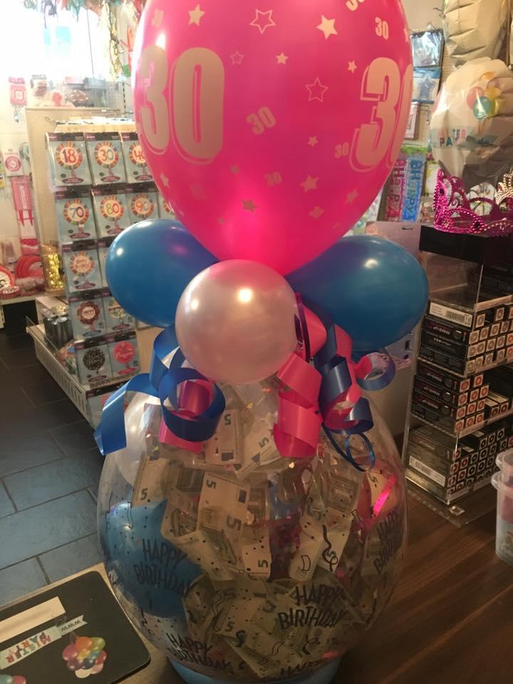 ballon mit geld füllen berlin
